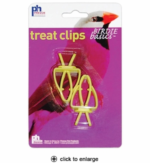 Prevue Treat Clips 2pk