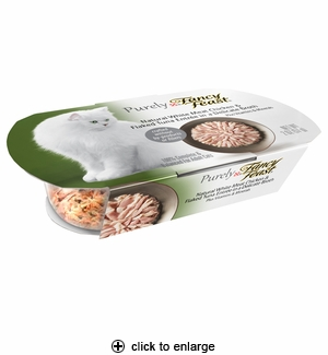 Purely Fancy Feast White Meat Chicken & Flaked Tuna 2oz