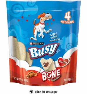 Purina Busy Bone Chewbone Treat Mini 4pk