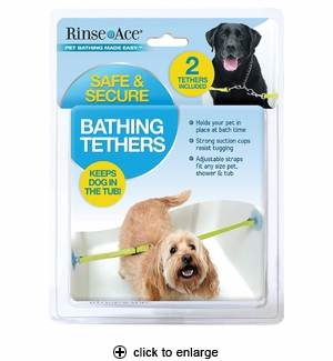 Rinse Ace Pet Bathing Tethers 2pk
