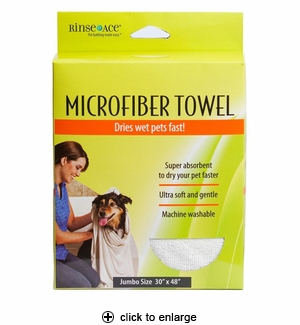 Rinse Ace Microfiber Pet Towel
