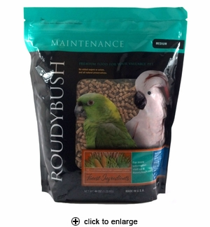 Roudybush Maintenance Bird Pellets Medium 44oz