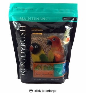 Roudybush Maintenance Bird Pellets Mini 44oz