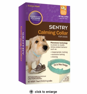 Sentry Calming Collar for Dogs 3pk