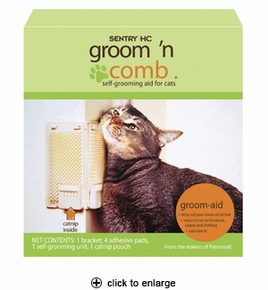 Sentry HC Groom 'n Comb for Cats