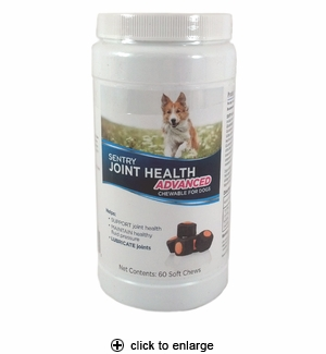 Sentry Joint Health Advanced Soft Chews for Dogs 60ct