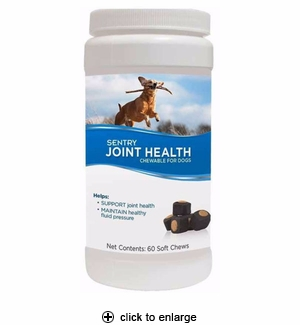 Sentry Joint Health Soft Chews for Dogs 60ct