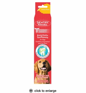 Sentry Petrodex Enzymatic Toothpaste For Dogs 2.5 oz