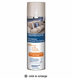 SentryHome Household Flea & Tick Spray 16oz