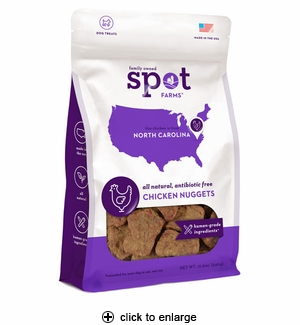 Spot Farms Chicken Nuggets Dog Treats 12oz