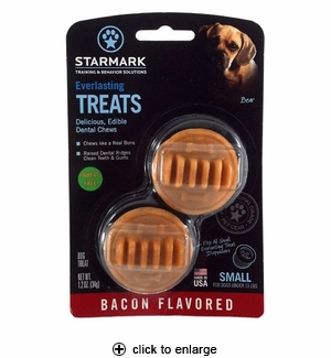 Starmark Everlasting Dental Treats Bacon Small 2pk