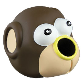 Starmark Forest Friends Dog Toy Monkey