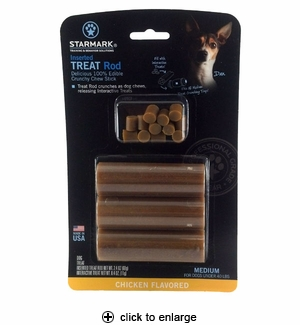 Starmark Inserted Treat Rod Dog Treat Medium 3pk