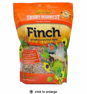 Sweet Harvest Finch Food 4 lbs