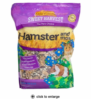 Sweet Harvest Hamster Food & More 4 lbs