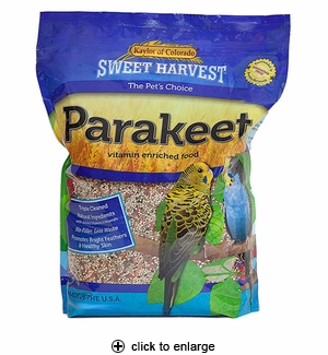 Sweet Harvest Parakeet Food 2 lbs
