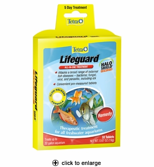 Tetra Lifeguard All-In-One Treatment Tablets 32ct