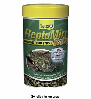 Tetra Reptomin Baby Mini Floating Food Sticks .92 oz.