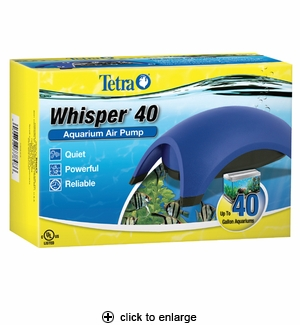 Tetra Whisper Air Pump 40 (UL listed)