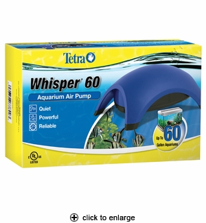 Tetra Whisper Air Pump 60 (UL listed)