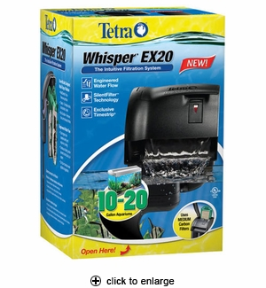 Tetra Whisper EX20 Power Filter
