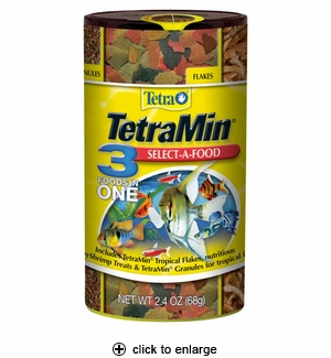TetraMin Tropical Select-A-Food 2.4oz