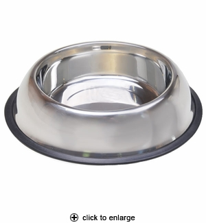 Van Ness Pureness No-Tip Stainless Steel Pet Dish 16oz #SSNT0