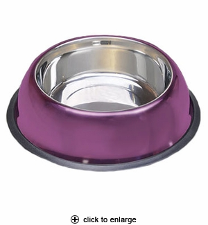 Van Ness Pureness No-Tip Stainless Steel Pet Dish 32oz #SSNT1