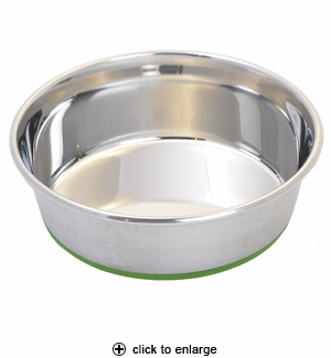 Van Ness Pureness Stainless Steel Non-Skid Pet Dish 24oz #SS2