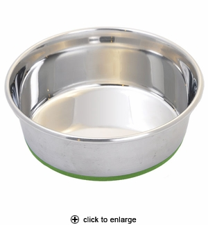 Van Ness Pureness Stainless Steel Non-Skid Pet Dish 48oz #SS3