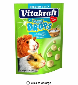 Vitakraft Drops with Yogurt for Guinea Pigs 5.3oz