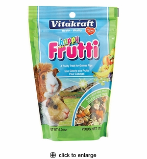 Vitakraft Happy Frutti Treats for Guinea Pigs 6oz