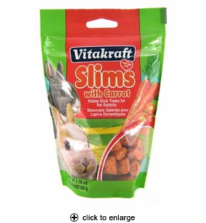 Vitakraft Slims with Carrot for Rabbits 1.76oz