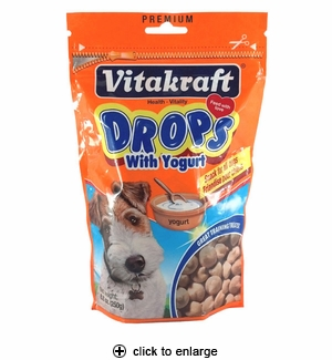 Vitakraft Yogurt Drops For Dogs 8.8 oz.