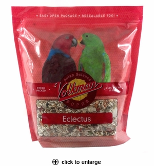 Volkman Avian Science Super Eclectus Food 4lbs