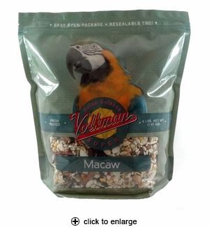 Volkman Avian Science Super Macaw Food 4lbs