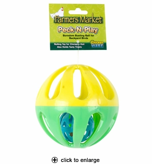 Ware Chicken Peck-N-Play Ball