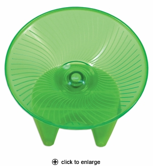 Ware Critter Flying Saucer Exercise Wheel Medium