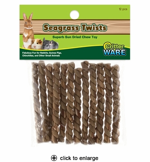 Ware Critter Seagrass Twists 12ct