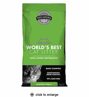 World's Best Cat Litter Clumping Formula 7 lbs