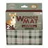 Zeus Wonder Mat for Dogs Plaid Medium 2pk