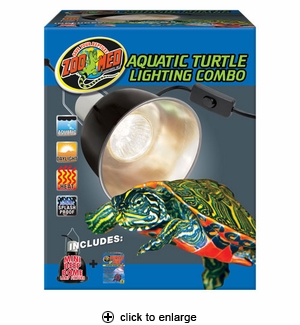 Zoo Med Aquatic Turtle Lighting Combo #LF-29