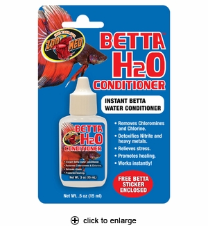 Zoo Med Betta H2O Conditioner 0.5oz