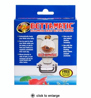 Zoo Med Bettamatic Automatic Betta Feeder #BF-1