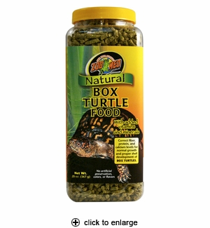 Zoo Med Natural Box Turtle Food 20oz