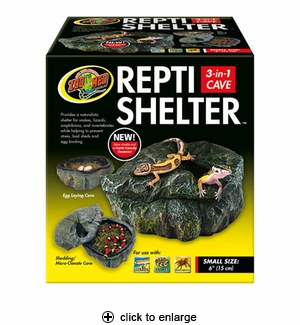 Zoo Med Repti Shelter 3-in-1 Cave Small