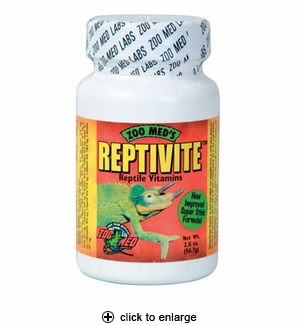 Zoo Med Reptivite Reptile Vitamins with D3 2 oz.