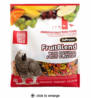 ZuPreem FruitBlend Flavor Medium/Large Pellets 3.5 lbs.