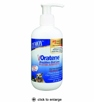 Zymox Oratene Water Additive for Dogs & Cats 8oz