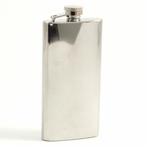 5.5 oz. Stainless Steel Boot Flask